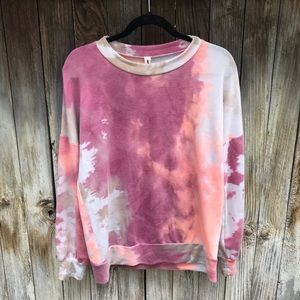 Vanilla Bay Tie Dye Long Sleeve Top